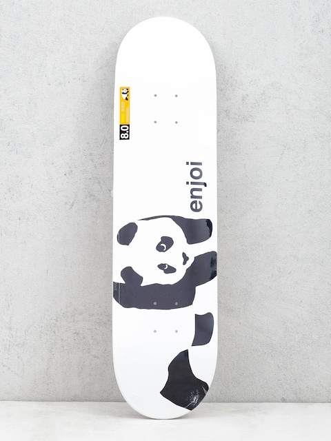 Deck Enjoi Panda Logo Wide (wht) 8.0