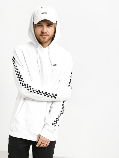 Bluza z kapturem Vans Versa HD (white/checkerboard)