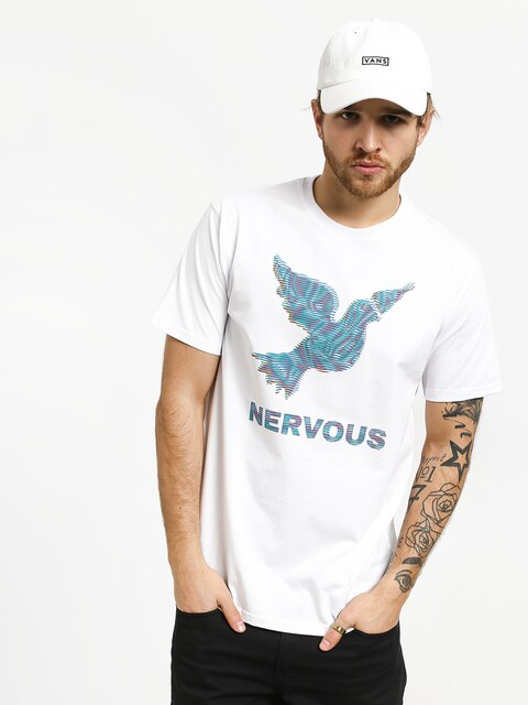 T-shirt Nervous Lcd (white)