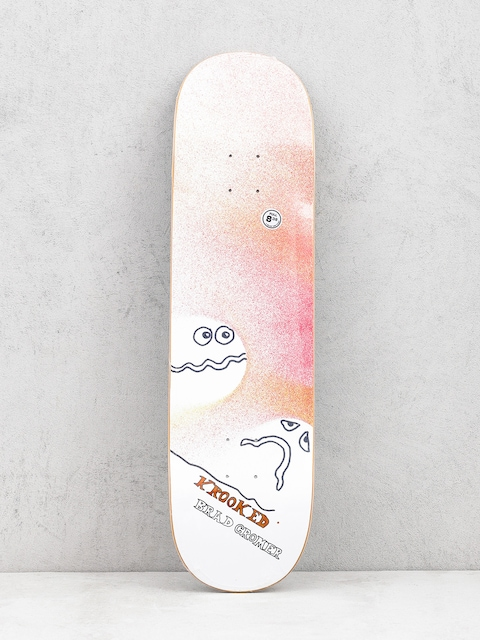 Deck Krooked Cromer Spray (coral/white)