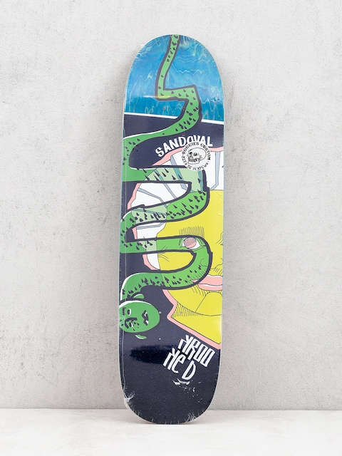 Deck Krooked Ronnie Snakehead (green)