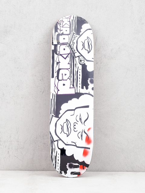 Deck Krooked Ronnie Stern (white/black)