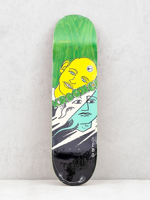 Deck Krooked Sebo Face Off (green)