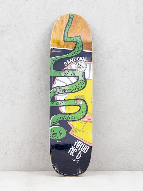Deck Krooked Ronnie Snakehead (brown)