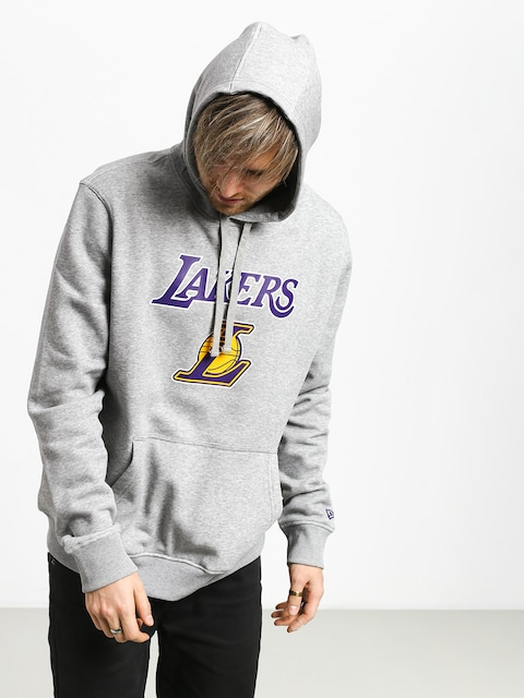 Bluza z kapturem New Era Top 6 Los Angeles Lakers HD (heather gray)