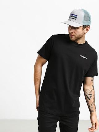 T-shirt Patagonia Logo Organic (black)