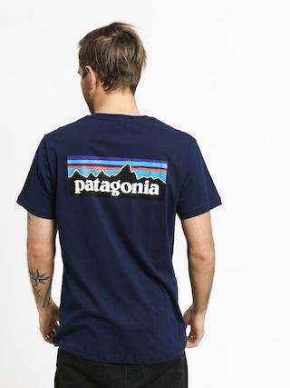 T-shirt Patagonia Logo Organic (classic navy)