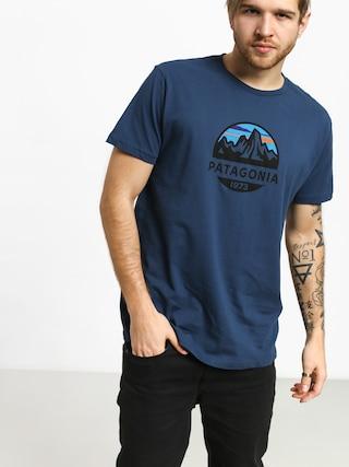 T-shirt Patagonia Fitz Roy Scope Organic (stone blue)