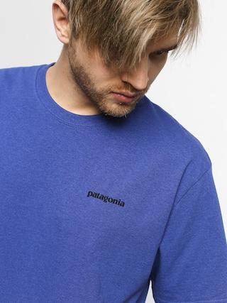 T-shirt Patagonia Logo Responsibili (violet blue)
