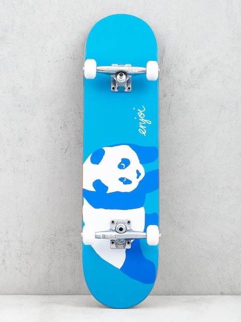 Deskorolka Enjoi Blue Panda Resin (neon blue)