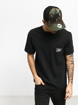 T-shirt Fox Heater Pocket (blk)