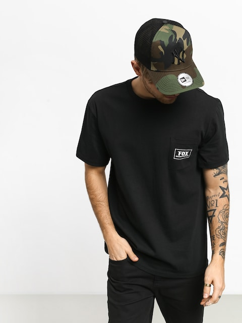 T-shirt Fox Heater Pocket (blk)