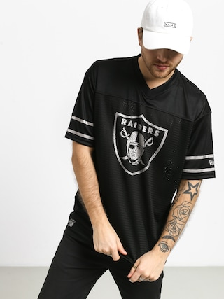 T-shirt New Era Team Logo Oversized Oakland Raiders (black)