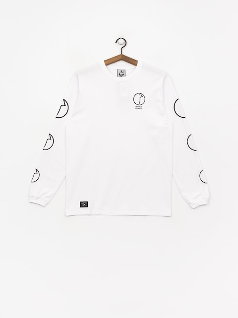 Longsleeve Nervous Profile (white)