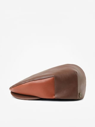 Kaszkiet Brixton Hooligan Snap ZD (brown/lt brown)