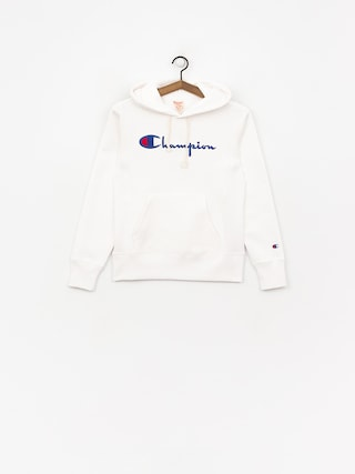 Bluza z kapturem Champion Hooded Sweatshirt HD Wmn (wht)