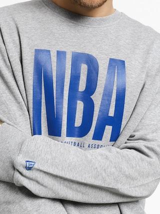 Bluza New Era Nba Logo Crew (heather gray)