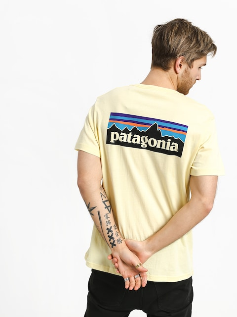 T-shirt Patagonia Logo Organic (resin yellow)