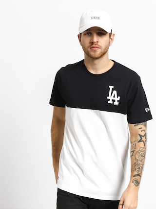 T-shirt New Era Colour Block Los Angeles Dodgers (optic white/navy)