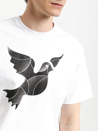 T-shirt Nervous Icon (white)