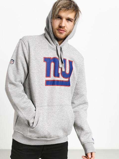 Bluza z kapturem New Era New York Giants HD (heather gray)
