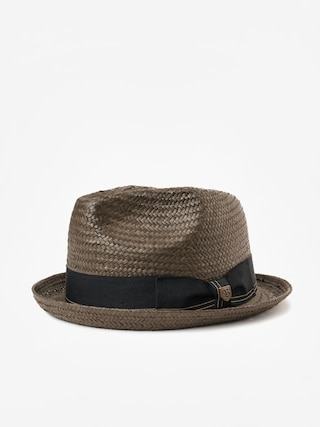 Kapelusz Brixton Castor Fedora (washed black/gold)