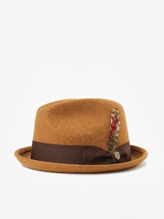 Kapelusz Brixton Gain Fedora (heather coffee)