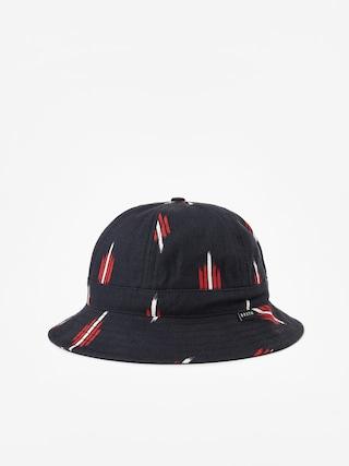 Kapelusz Brixton Banks II Bucket Hat (black/red)