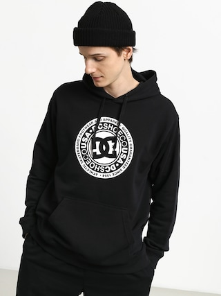 Bluza z kapturem DC Crasingle HD (black)