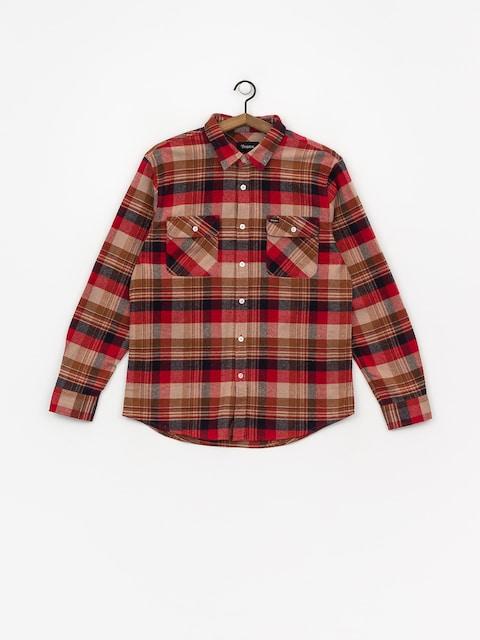 Koszula Brixton Bowery Flannel (red/copper)