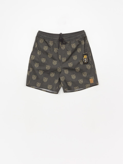 Szorty Brixton Parole Trunk (black yellow)