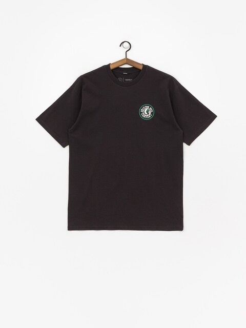 T-shirt Brixton Rival II Stnd (washed black/green)