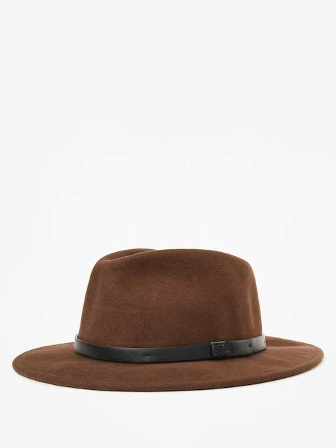 Kapelusz Brixton Messer Fedora (brown/black)