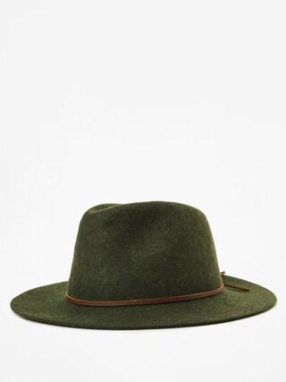 Kapelusz Brixton Wesley Fedora (heather green)