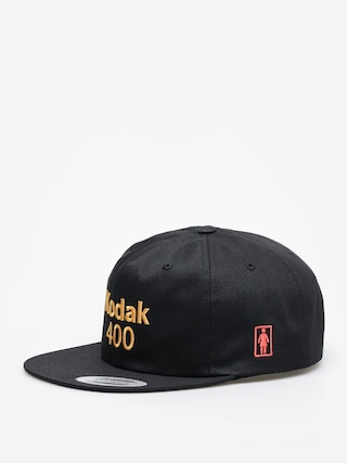 Czapka z daszkiem Girl Skateboard Kodak Gold 400 ZD (black)