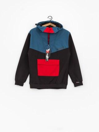 Kurtka snowboardowa Majesty Anorak (black/red/blue)