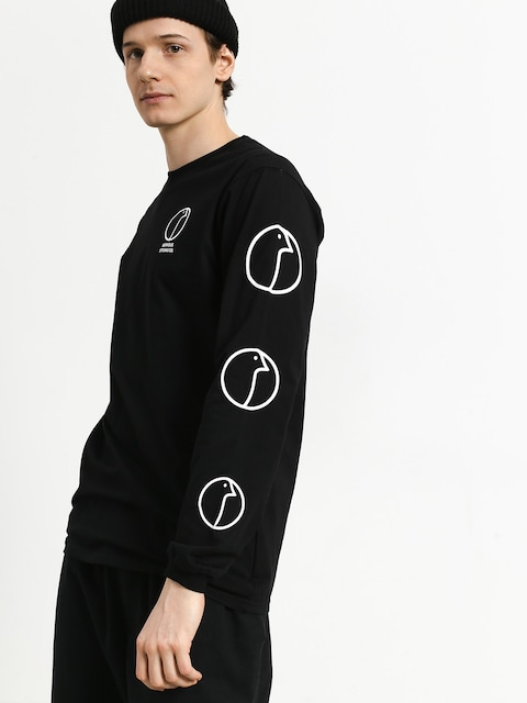 Longsleeve Nervous Profile (black)