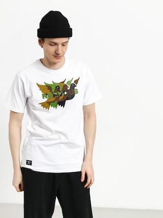 T-shirt Nervous Camo (white)
