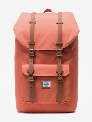 Plecak Herschel Supply Co. Little America (apricot brandy/saddle brown)