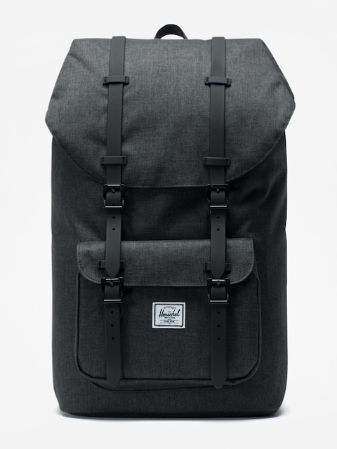 Plecak Herschel Supply Co. Little America (black crosshatch/black)