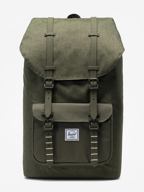 Plecak Herschel Supply Co. Little America (olive night crosshatch/olive night)