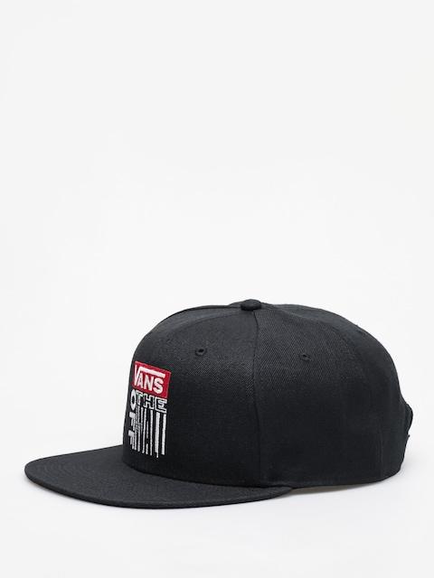 Czapka z daszkiem Vans Vans Block Snapback ZD (black)