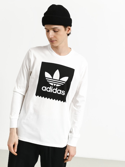 Longsleeve adidas Bb (white/black)