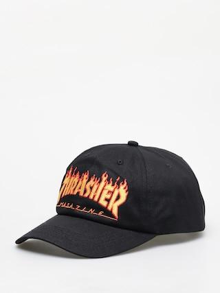Czapka z daszkiem Thrasher Flame Old Timer ZD (black)