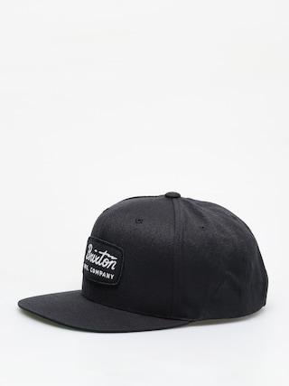 Czapka z daszkiem Brixton Jolt Snapback ZD (black/black/white)