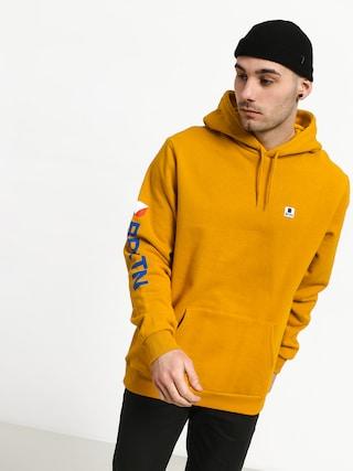 Bluza z kapturem Brixton Stowell Intl HD (nugget gold)