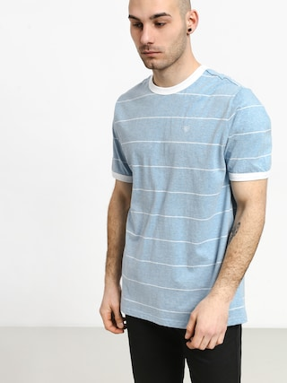 T-shirt Brixton B Shield (light blue/white)