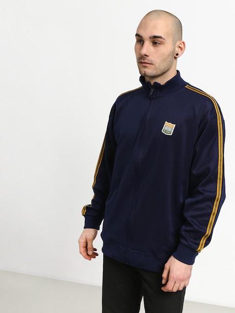 Bluza Brixton United Mock Neck Zip