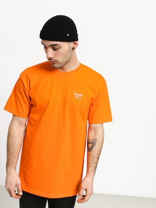 T-shirt Brixton Wheeler II Stnd (orange/yellow)