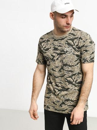 T-shirt Brixton Wheeler II Prem (digi tiger camo)